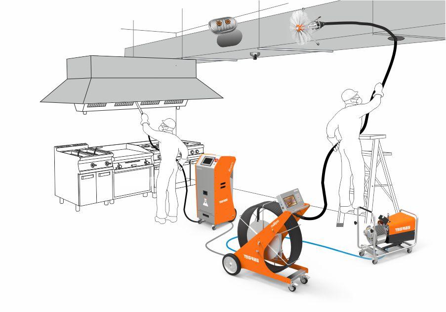 Nettoyage des hottes, des conduits et des extracteurs des cuisines