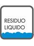 liquide et poussière d'aspirateur