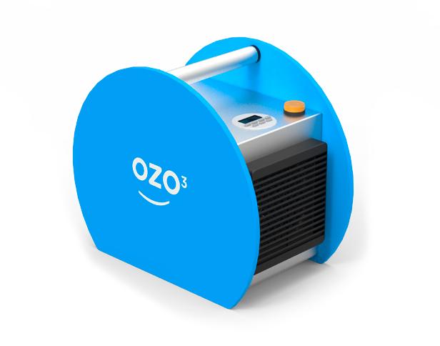 Ozonateur portable pour la désinfection de l'environnement