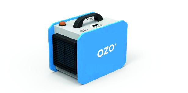 Désinfection portable à l'ozone