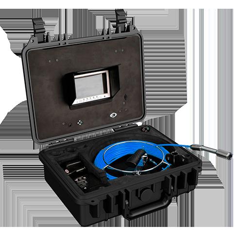 Système d'inspection vidéo compact et portatif